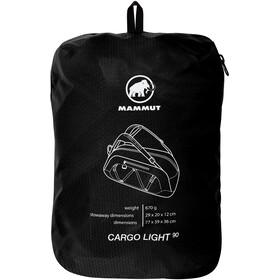 Mammut Cargo Light Sac à bandoulière 90L, black
